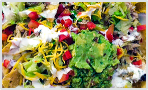 All tacos are served in nutritious and delicious flavors